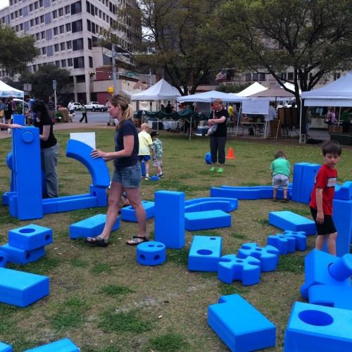 Детские площадки своими руками из подручных средств 20