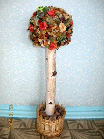 Новогодние поделки из природных материалКрасивая открытка иКостюм горничная своими руками