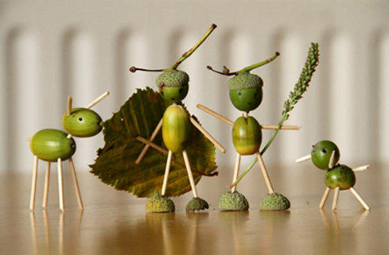 Поделки из листьев винограда