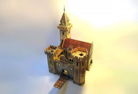Модель замков своими руками 612