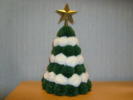 Новогодняя елка поделки своими руками картинки