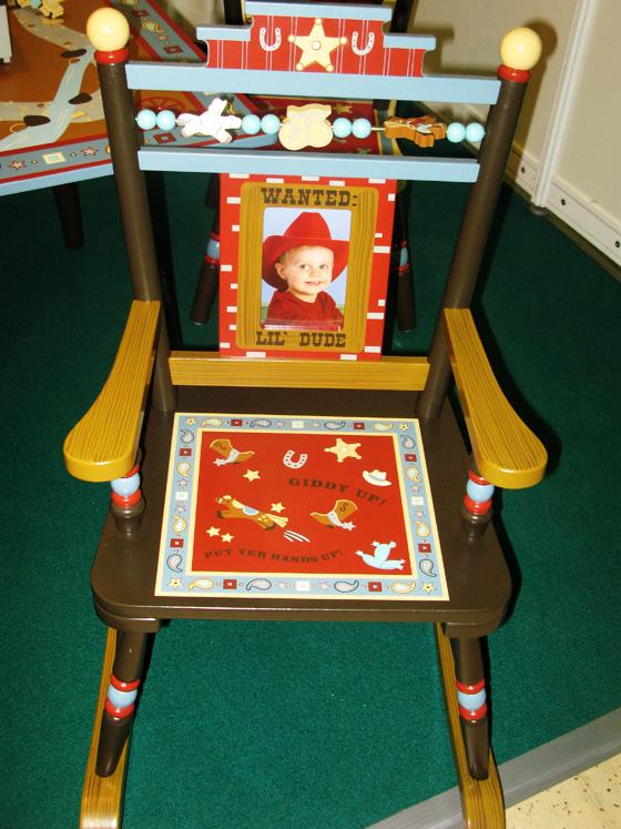 стул кавбоя