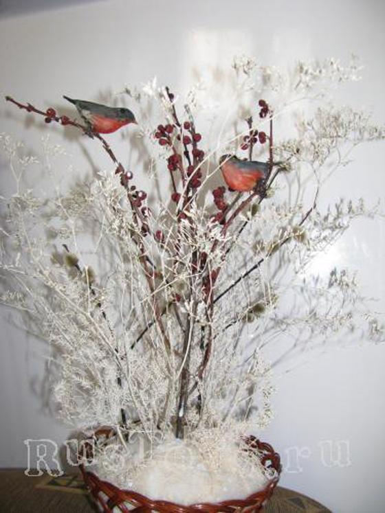 Поделка на зимнюю тематику своими руками
