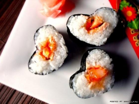 суши к 14 февраля