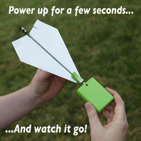 мотор для бумажного самолета