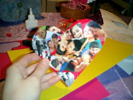 Валентинка своими руками с фото