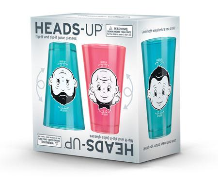 Heads Up Juice Glasses упаковка