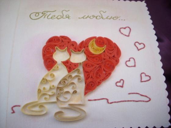 валентинка с кисками