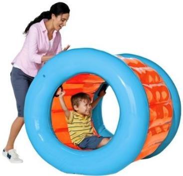 домашний зорбинг для детей