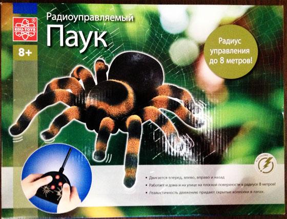 паук от edu toys