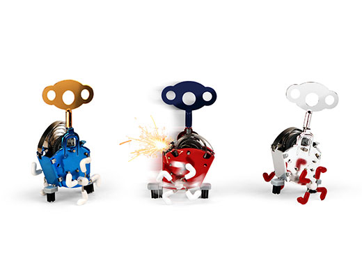 kikkerland заводные игрушки