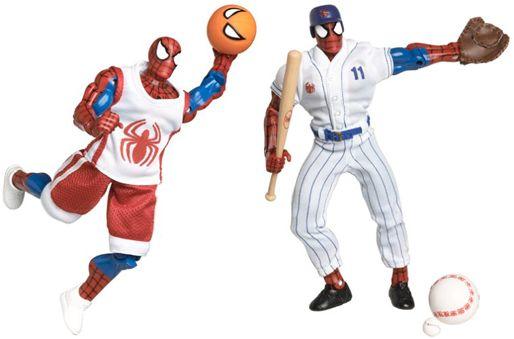 21_Spider-Man_Sports_Figures