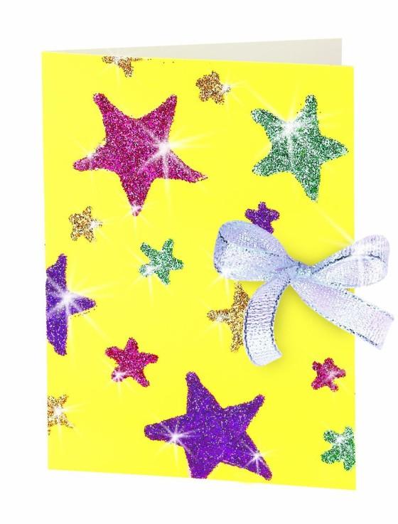 открытка звезде