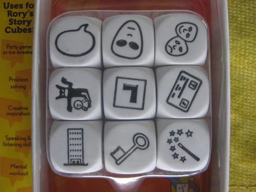 Rory's Story Cubes кубики