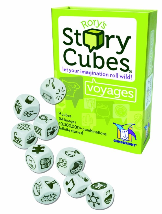 Rory's Story Cubes vouagers