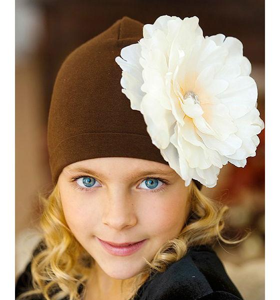 Viva Girl детская шапочка с цветком