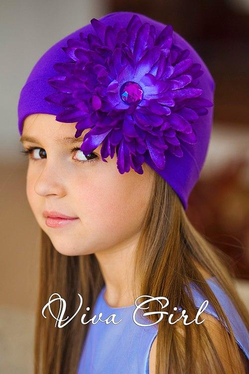 Viva Girl шапочка с цветком