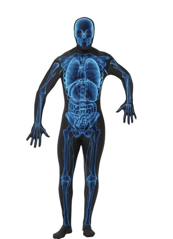 morph-suit костюм скелета