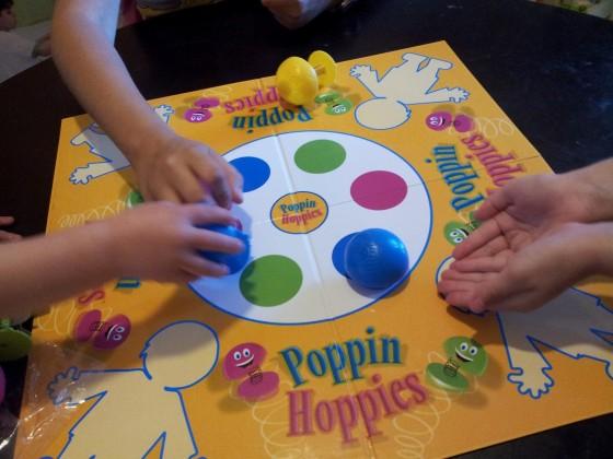 настольная игра Poppin Hoppies