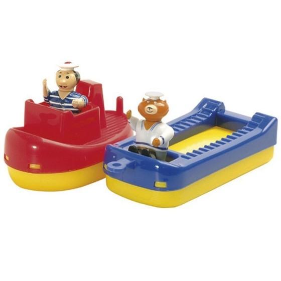 Игрушки для воды 'Буксир, баржа и два человечка', Aquaplay