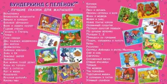 Вундеркинд с пеленок Лучшие сказки для малышей
