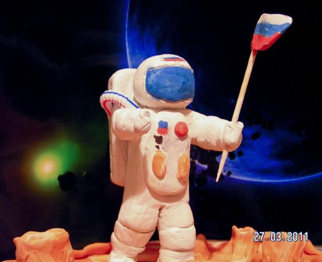 Космонавт поделка своими руками 47