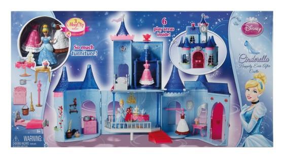 Cinderella MagicClip Castle Doll House