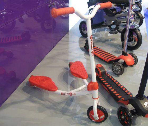Fliker Y-bike Junior трехколесный самокат