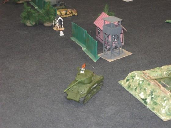 танк на радиоуправлении