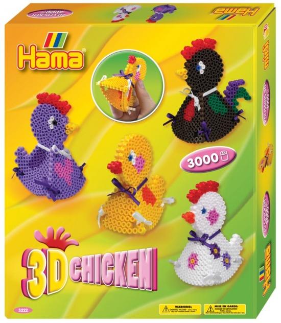 Термомозаика Hama 3D цыпленок