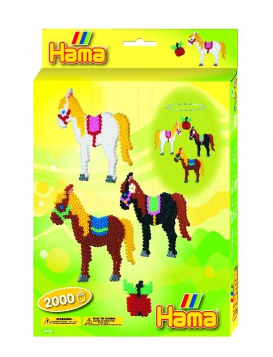 Термомозаика Hama лошадки