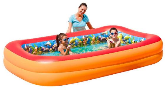 бассейн с 3D рисунком