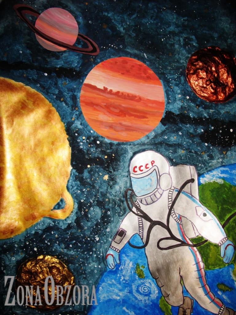 Поделки к дню космонавтики пошагово