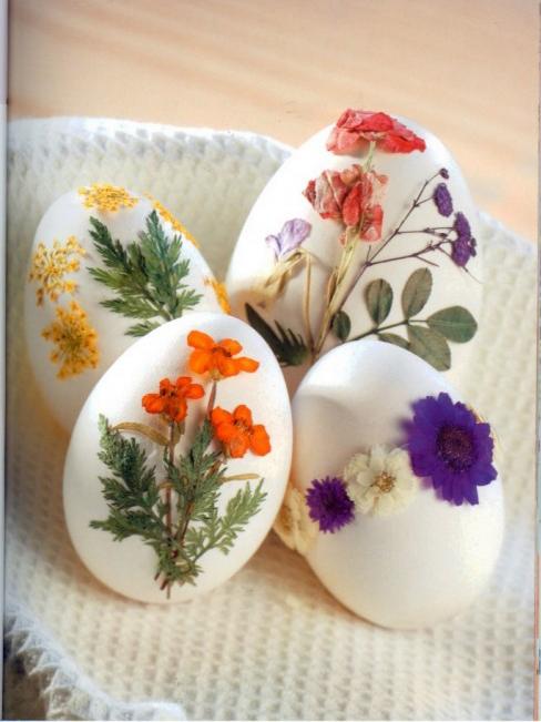 украсить яйца к пасхе