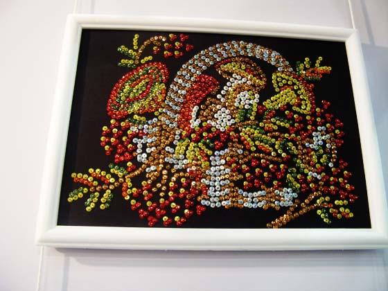 волшебная мастерская - мозаика из пайеток