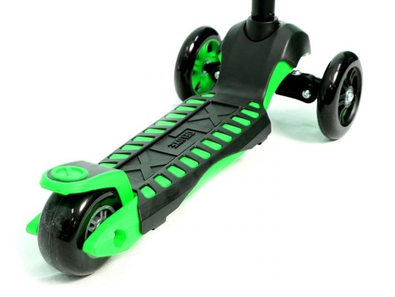 camokat-y-bike-glider-maxi-green
