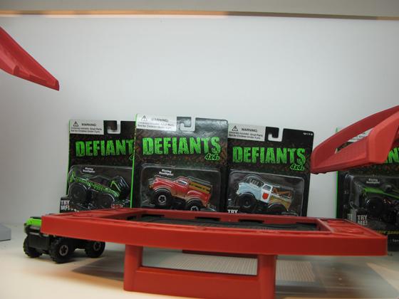 Defiants машинки
