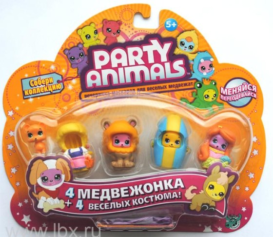 72839_Nabor_Pati_Enimals_(Party_Animals)_4_medvezhonka
