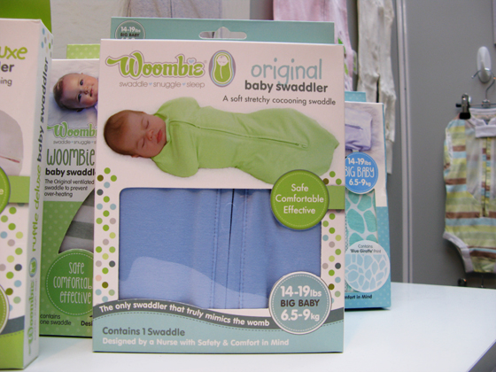 Baby Swaddler original blue