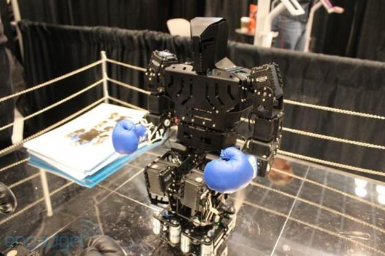 robot on ring