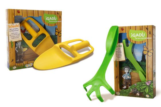 iGADU детские инструменты для сада