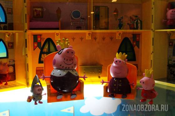 pig peppa queen and king