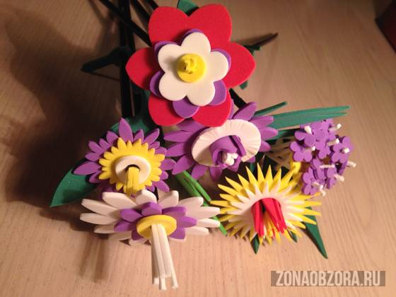 create your own bouquet