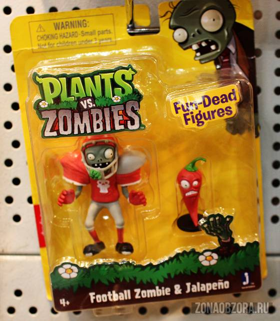 toy Plants vs Zombies
