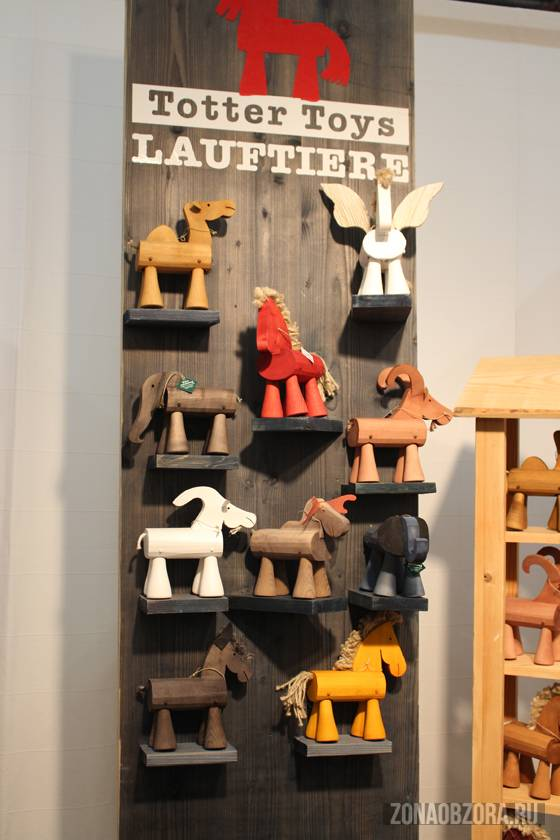 Totter Toys Lauftiere