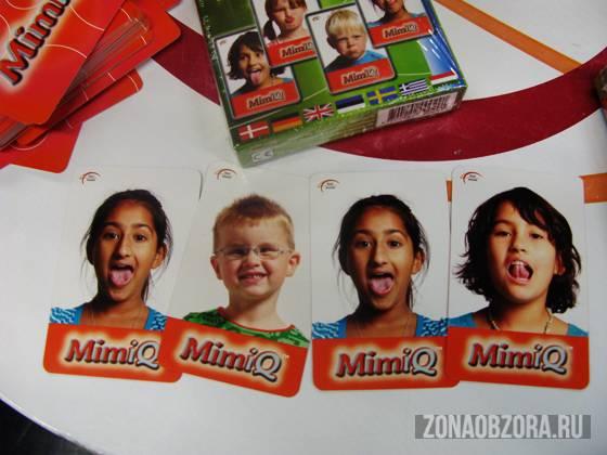 Максимум мимики, минимум слов. Настольная игра Mimiq