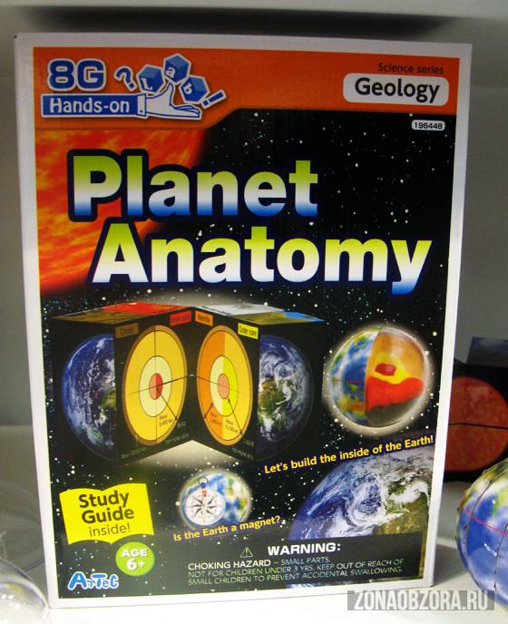 planet anatomy