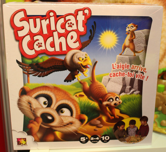 Suricat cache game