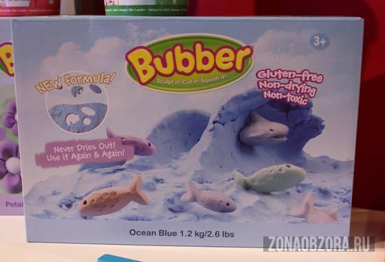 Лепить, с большой буквы! Bubber – масса для лепки от WabaFun