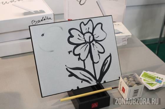 Рисуем водой! Планшет для рисования Buddha Board